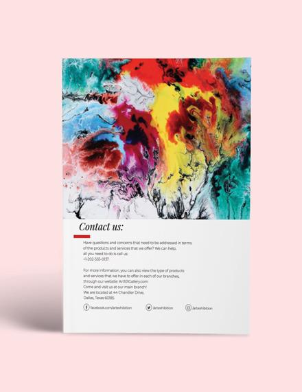 Sample Art Exhibition Catalogue