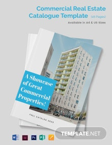Commercial Real Estate Catalogue Template