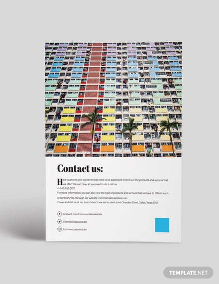 Sample Commercial Real Estate Catalogue