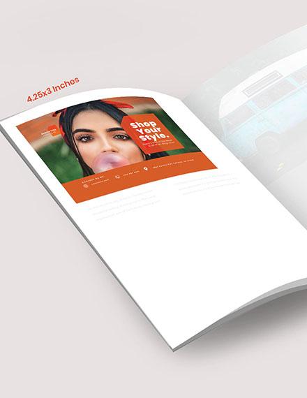 Fashion Campaign Magazine Ads Example