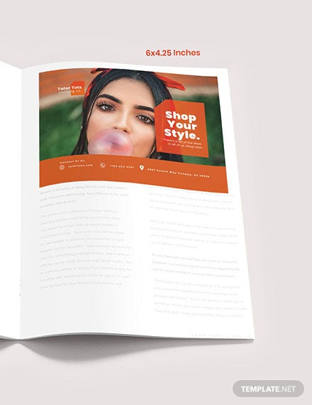 Fashion Campaign Magazine Ads Format
