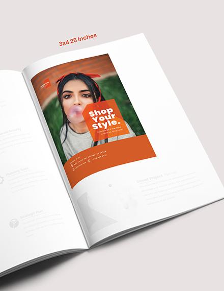 Sample Fashion Campaign Magazine Ads