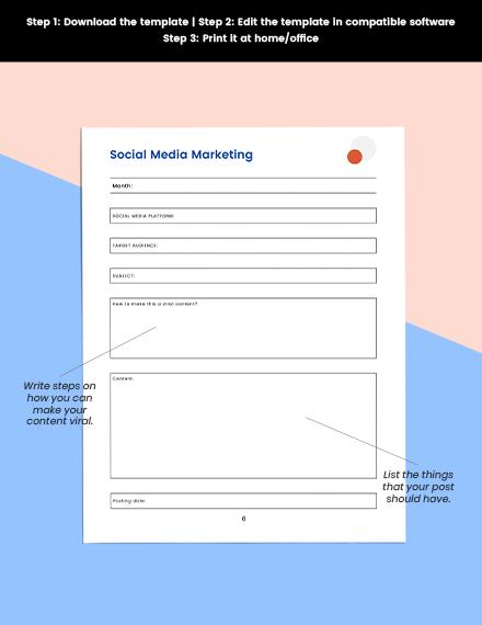 client referral marketing Planner Editable