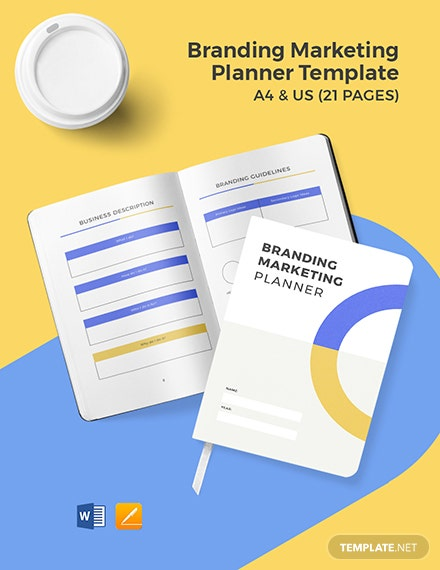 Branding Marketing Planner Template