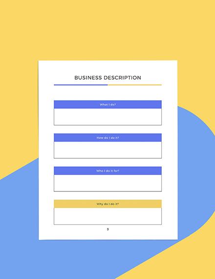 Sample Branding Marketing Planner