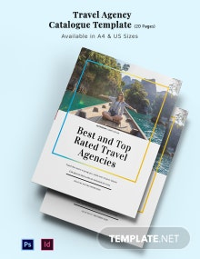 Travel Agency Catalog Template