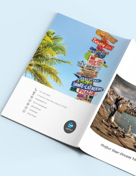 Sample Travel Catalog