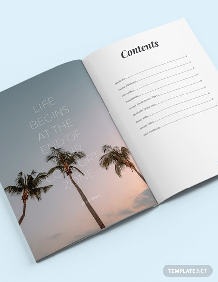 Travel Catalog Download