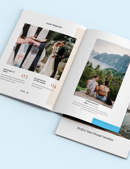 Travel Catalog Template