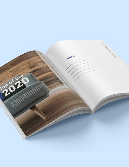 Wholesale Catalogue Template