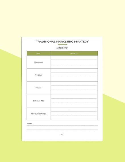 Etsy Marketing Planner Editable