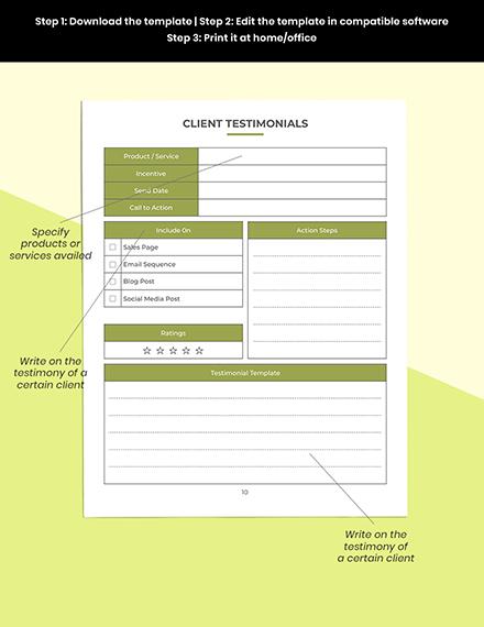 Etsy Marketing Planner Printable