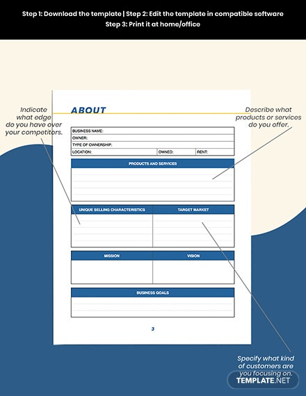 small business marketing Planner About
