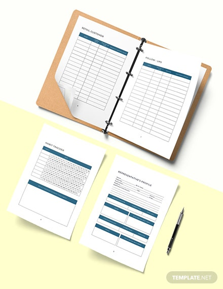 Network Marketing Planner Template Example