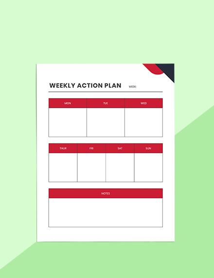 Productivity Project Planner Editable