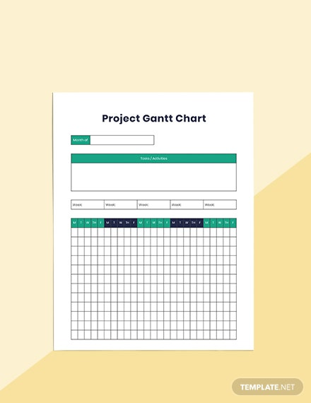 Project Timeline Planner Editable