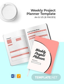 Weekly Project Planner Template