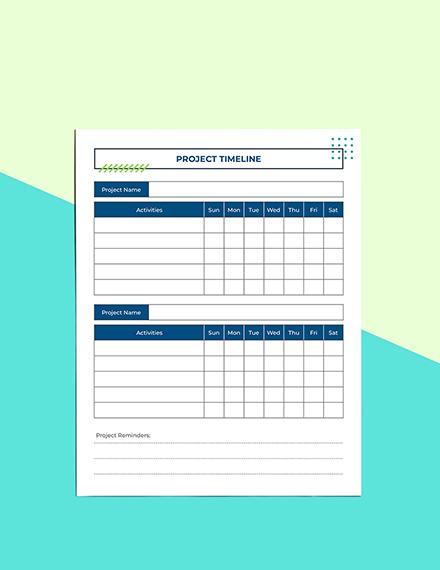 Digital Project Planner Download