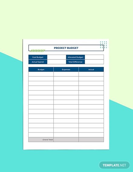 Digital Project Planner Example