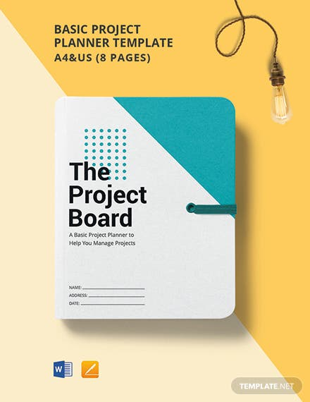Free Basic Project Planner Template