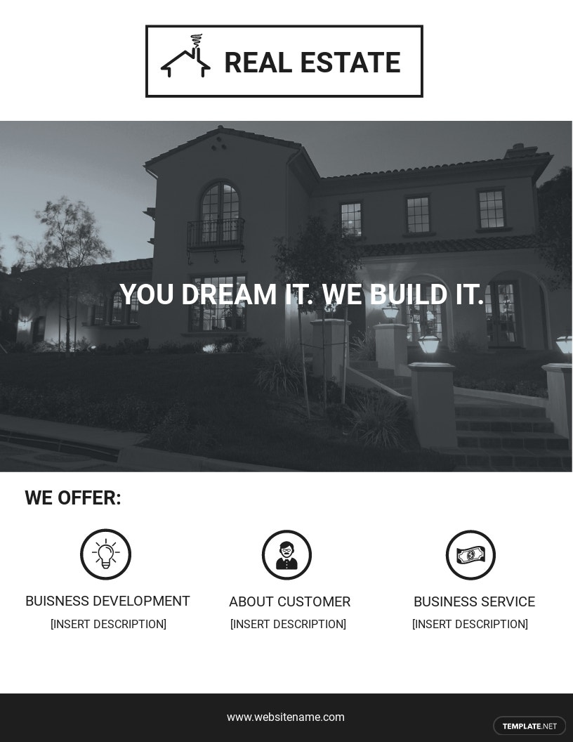 Printable Real Estate Flyer Template.jpe