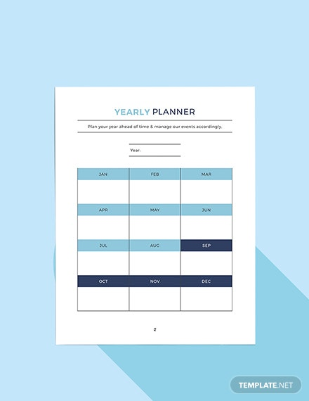 strategic social media Planner Format