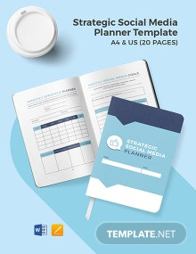 Strategic Social Media Planner Template