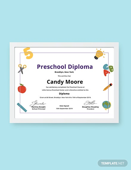 9 free diploma certificate templates download ready made