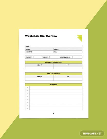 Week Fitness Planner Template Editable