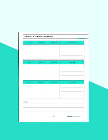 Printable Marketing Planner Download