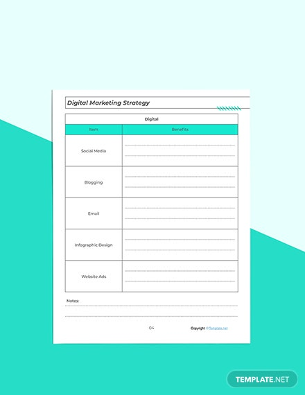 Printable Marketing Planner Editable