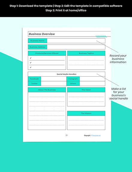 Printable Marketing Planner Printable