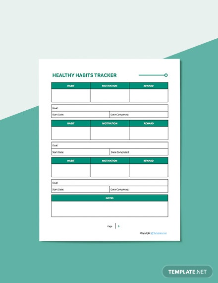 Printable Fitness Planner Download