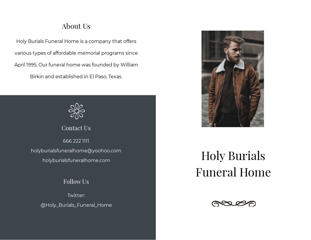 Editable Burial Funeral Bi Fold Brochure Template.jpe