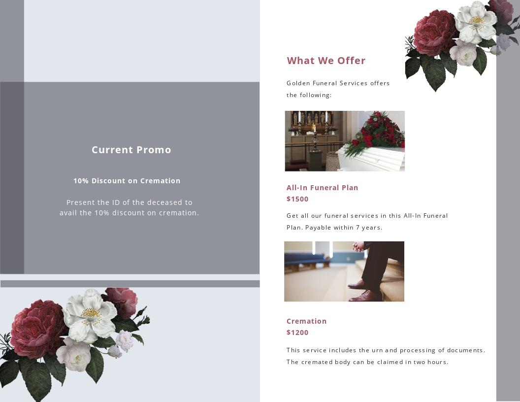 Printable Funeral Program Bi Fold Brochure Template 1.jpe