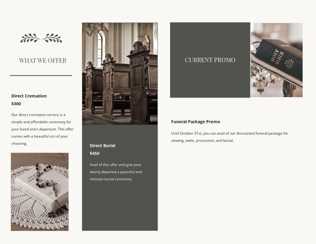 Religious Funeral Memorial Bi Fold Brochure Template 1.jpe