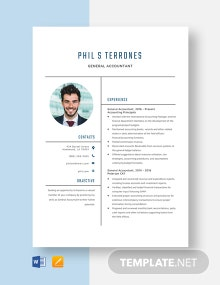 General Accountant Resume Template