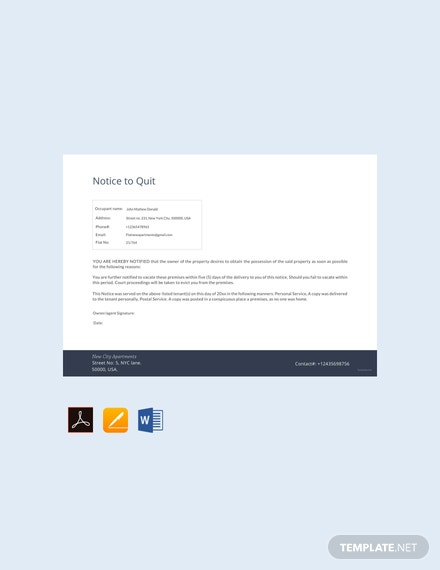free notice to quit template 440x570 1