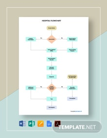Free Sample Hospital Flowchart Template