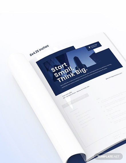 Commercial Business Magazine Ads Template