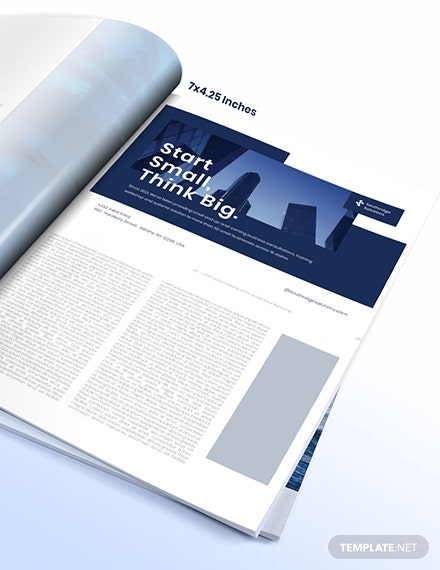Sample Commercial Business Magazine Ads