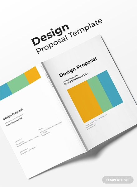 Free Design Proposal Template
