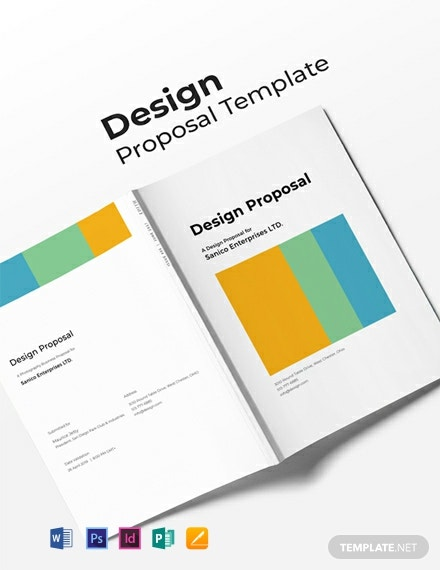 Free Design Proposal Template Word Psd Indesign