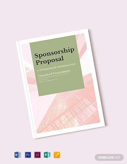 FREE Sponsorship Proposal Template - Word | PSD | InDesign