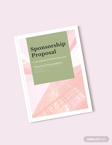 Free Sponsorship Proposal Template