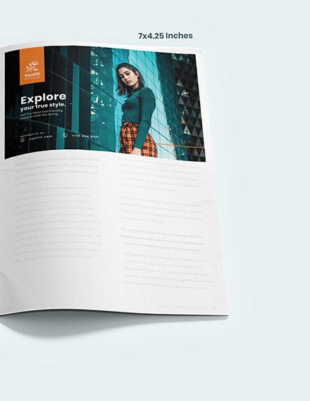 Fashion Magazine Ads Example