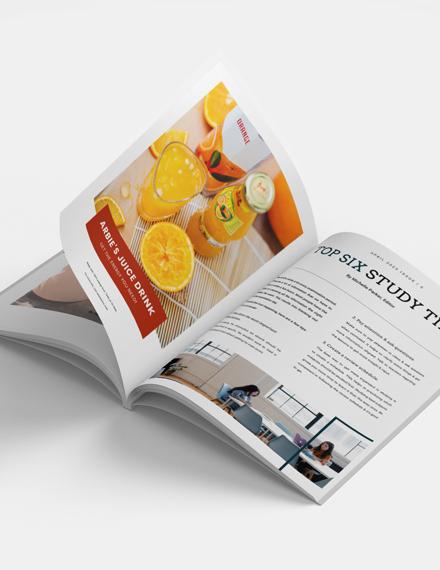 Minimal Student Magazine