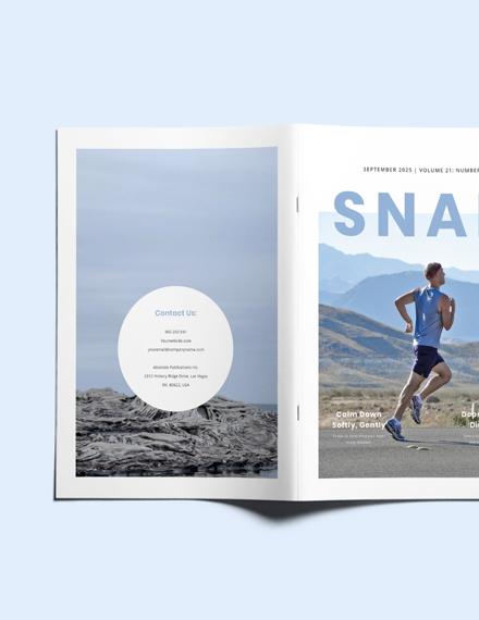 Sample Simple Health Magazine