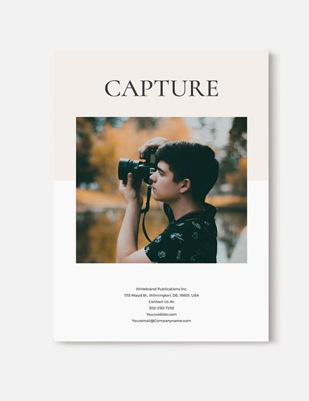 Sample Minimal Photography Magazine