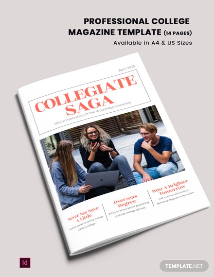 professional college magazine